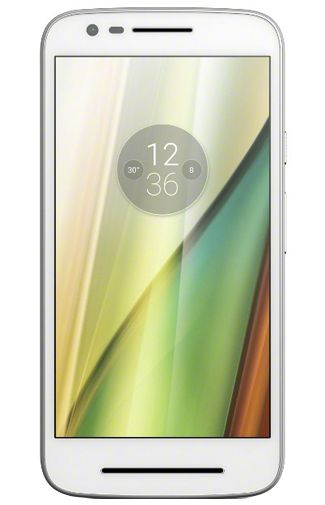 Motorola Moto E (3rd Gen) White