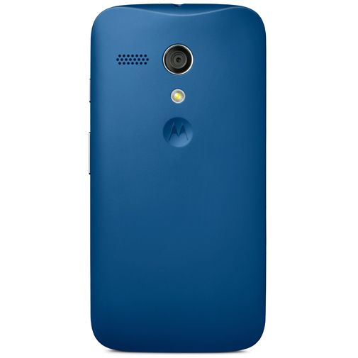 Motorola Moto G Battery Door Blue