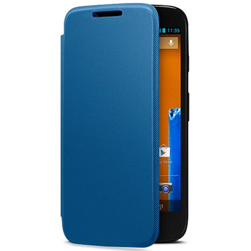 Motorola Moto G Flip Cover Blue