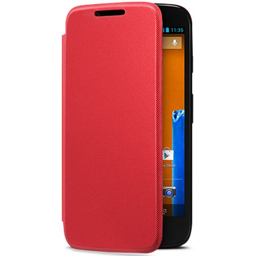 Motorola Moto G Flip Cover Red