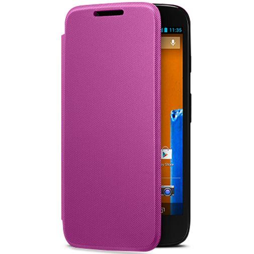 Motorola Moto G Flip Cover Violet
