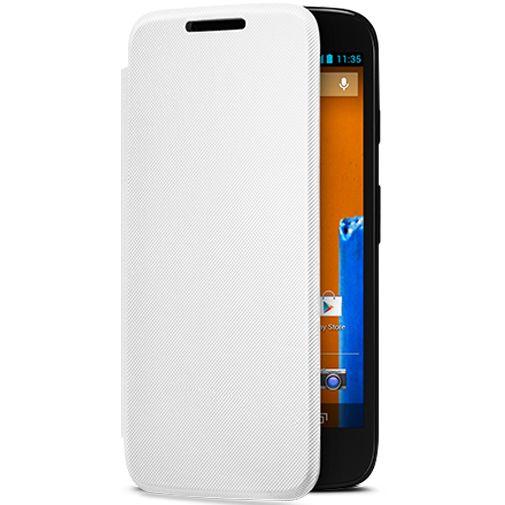 Motorola Moto G Flip Cover White