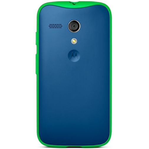 Motorola Moto G Grip Case Blue