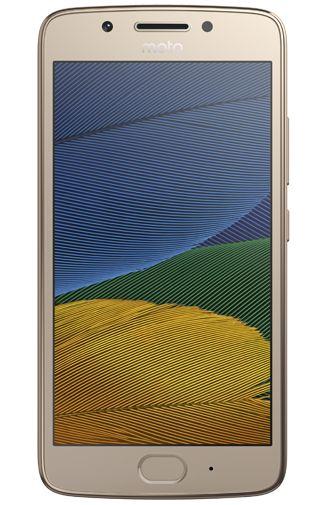 Productafbeelding van de Motorola Moto G5 Gold