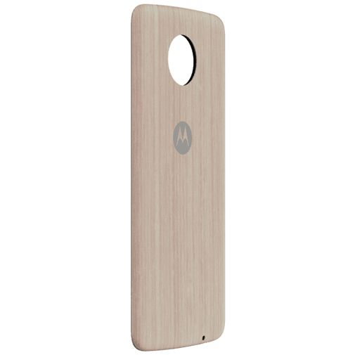 Motorola Moto Mods Style Shell Washed Oak Wood