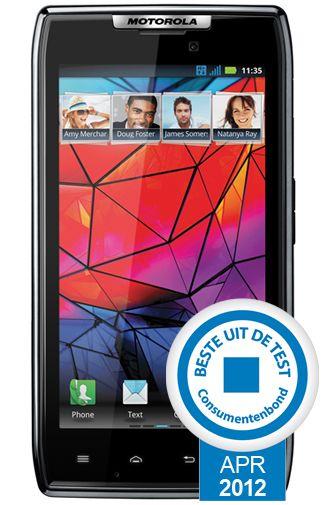 Productafbeelding van de Motorola Razr XT910