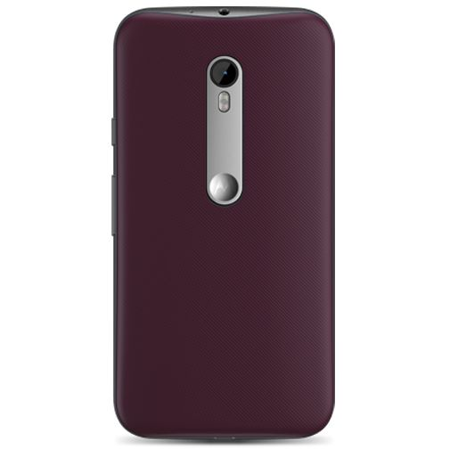 Motorola Shell Cabernet Moto G (3rd Gen)