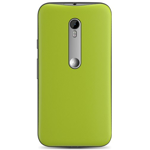 Motorola Shell Lemon Lime Moto G (3rd Gen)