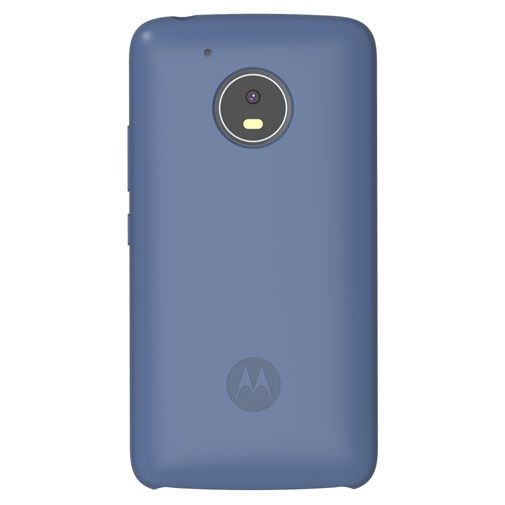 Motorola Silicone Back Cover Blue Moto G5