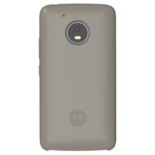 Productafbeelding van de Motorola Silicone Back Cover Grey Moto G5