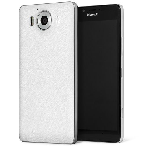 Mozo Back Cover White Microsoft Lumia 950