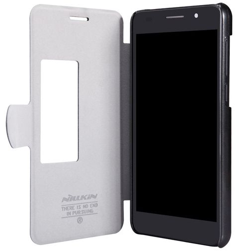 Productafbeelding van de Nillkin Flip Case Fresh Series Black Honor 6
