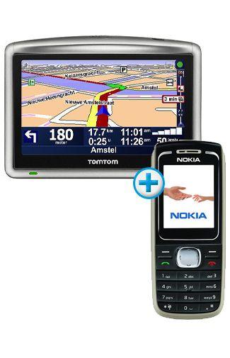 Nokia 1616 Black + TomTom One XL HD Traffic