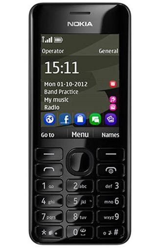 Nokia 206 Dual Sim Black