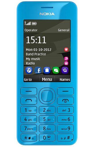 Nokia 206 Dual Sim Cyan