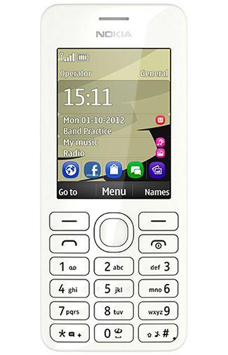Nokia 206 Dual Sim White