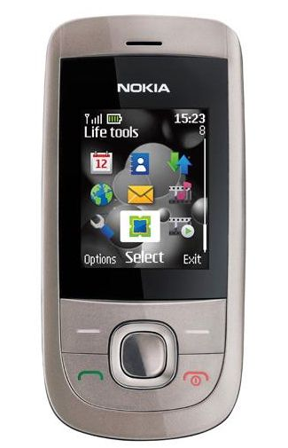 Nokia 2220 Slide Silver
