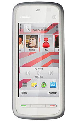 Nokia 5230 White Pink