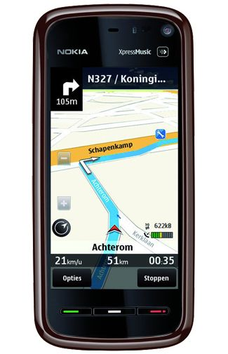 Nokia 5800 Navigation Edition Red