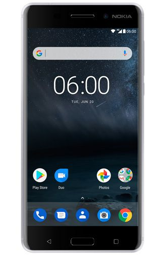 Productafbeelding Nokia 6 Dual Sim Silver