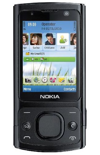 Nokia 6700 Slide Black