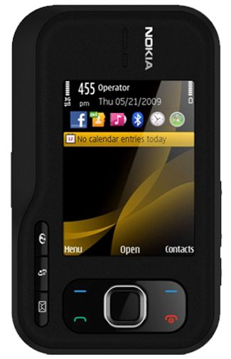 Nokia 6760 Slide Black