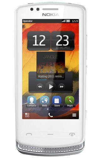 Nokia 700 Silver White