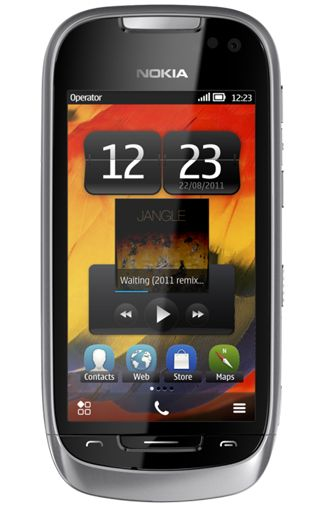 Nokia 701 Silver Light