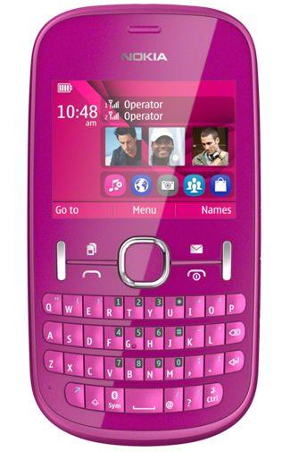 Nokia Asha 200 Pink