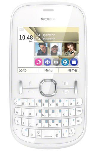 Nokia Asha 200 White