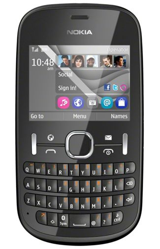 Productafbeelding van de Nokia Asha 201
