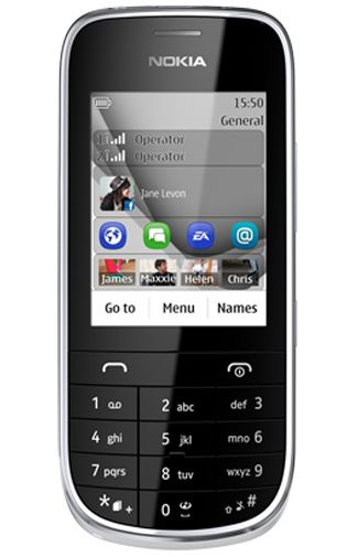 Nokia Asha 202 Silver White