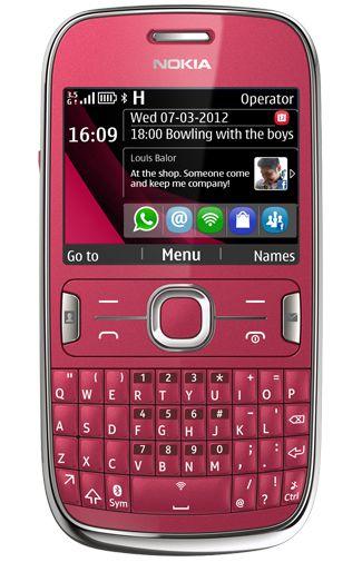 Nokia Asha 302 Plum Red