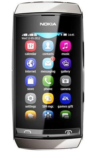 Nokia Asha 306 Dark Grey