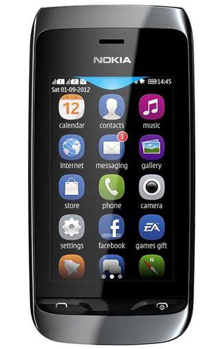 Nokia Asha 308 Dual Black