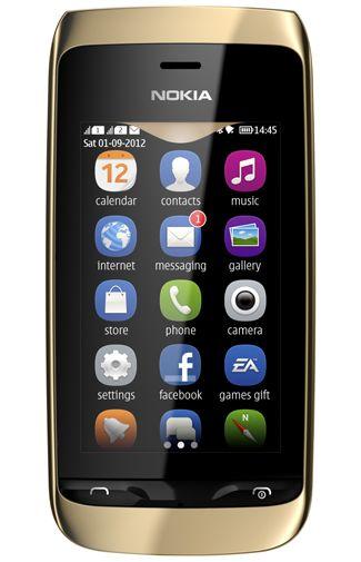 Nokia Asha 308 Dual Golden Light