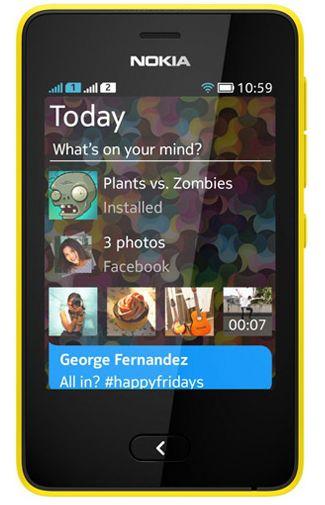 Nokia Asha 501 Yellow