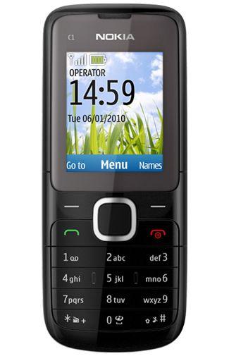 Nokia C1-01 Black Grey