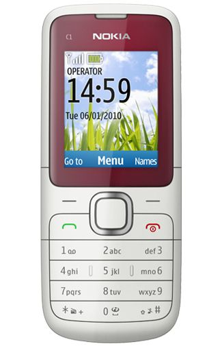 Nokia C1-01 Red White