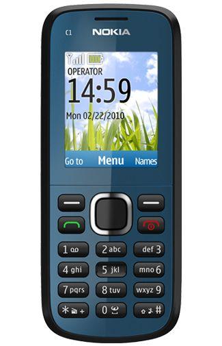 Nokia C1-02 Blue
