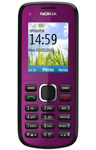 Nokia C1-02  Dark Purple