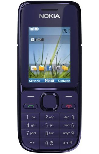 Nokia C2-01 Dark Blue