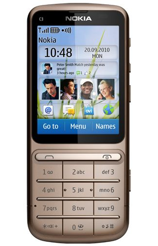 Nokia C3-01.5 Brown