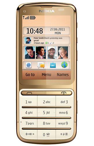 Nokia C3-01.5 Gold