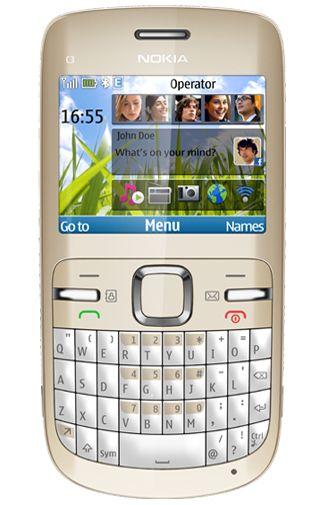 Nokia C3 Gold