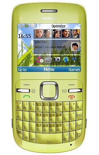 Nokia C3 Lemon