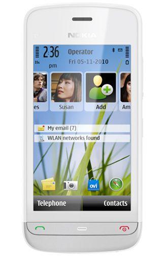 Nokia C5-03 White Silver