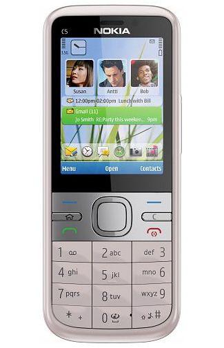 Nokia C5 Pink