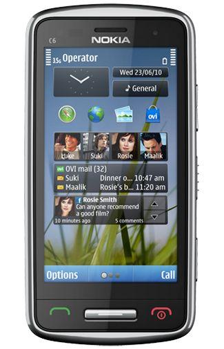 Nokia C6-01 Silver