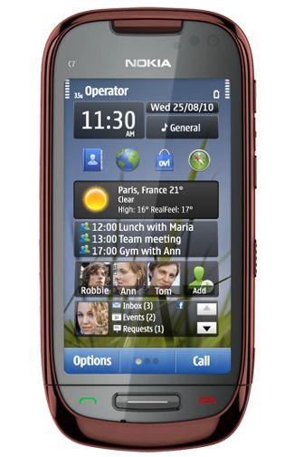 Nokia C7 Brown